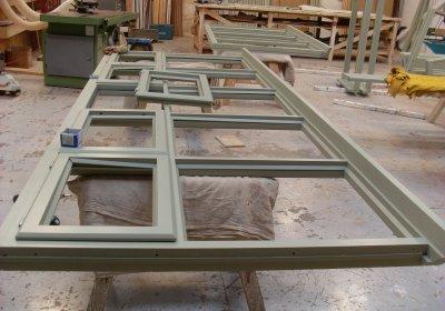 Manufacture of hardwood period windows